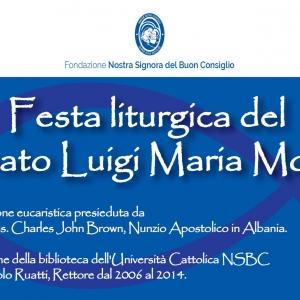 Festa liturgjike dedikuar Atë Luigi Monti-t